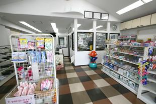 貝塚店的店舗環境